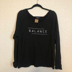 Good hYOUman Black Balance Sweatshirt